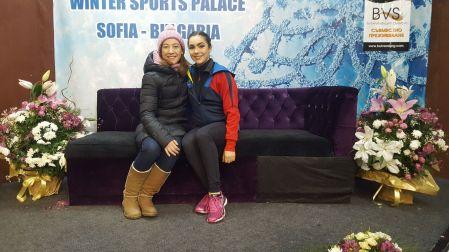 Sophia Trophy 2018 - Romana Kaiser mit Trainerin Barbara Luoni